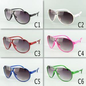 New Arrival Kids Pilot Sunglasses Children Sunglasses PC Frame Mixed 6 Colors Kids Size 20pcs Free Shipment