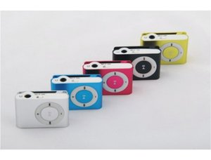 Wholesale Mini MP3 Player With TF SD Card Slot Supports FM Radio Sports Small And Exquisite MP3 Player Without Screen