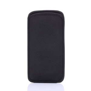 Wholesale Black Elastic Soft Neoprene Protector Sleeve Pouch Bags Skin Cover Cell Phones Cases For iPhone S and Samsung Galaxy S6 Edge