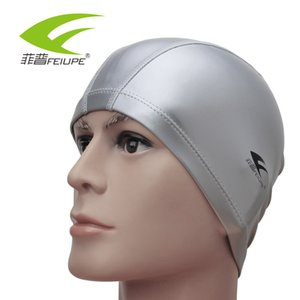 Wholesale NEW FEIUPE CAP113 Free size Waterproof Protect Ears Long Hair Pool Swimming Cap Hat Women Men Adults Water Sports order<$18no track