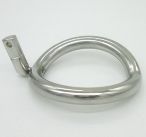 Wholesale Super Small Stainless Steel Male Chastity Device Cock Cages Additional Ring Cock Ring Size Choose Adult Sex BDSM Toy
