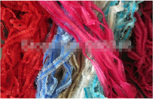 Wholesale Mix colors mm elastic stretch velvet ribbon with organza sheer stretchy ribbons lace edged ribbons DIY ACCESSORIES yards