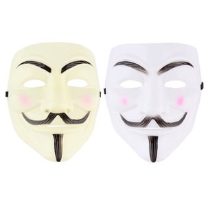 Wholesale- Cycling Face Mask V For Vendetta Mask Anonymous Movie Guy Fawkes Halloween Masquerade Party Face March Protest Free Shipping