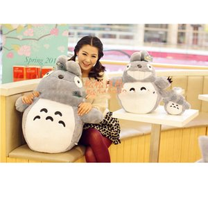 Wholesale Classic Totoro doll plush toys large dolls Stuffed Animals &Plush Toys doll birthday gift girls to write HE Free Shipping