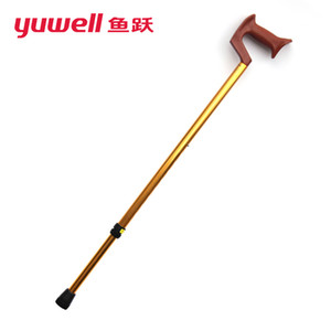 Wholesale yuwell YU820 crutches walking canes for men old man walking stick old man walkers canes Crutch portable skid adjustable