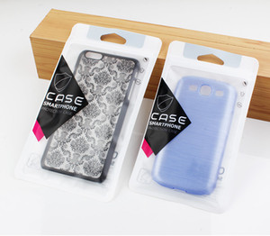 Wholesale 100pcs Custom Phone Case Bags for iPhone Plus Case Retail Hand Hold Package Bags PVC Plastic Zipper Bags for iPhone X Case