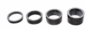 4pcs lot Full 3K carbon fiber road bicycle headset spacer mountain bike fork cover 28.60mm * 5 10 15 20mm mtb cycling parts matte or glossy on Sale