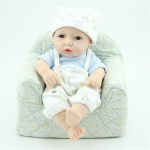 Wholesale reborn baby boy clothing for sale - Group buy Kawaii Reborn Newborn Dolls with Rompers Baby Soft Lifelike Reborn Boy Dolls Toys in Clothes Kids Women Christmas Gifts