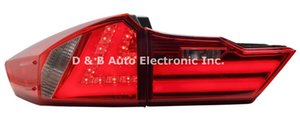 Wholesale Brand New Led Rear Light Led Back Lights Led Tail Lamp For Honda City