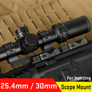 New Arrival 6061 Aluminum 25.4mm-30mm Double Ring Scope Mount for Hunting Sport Free Shipping CL24-0178