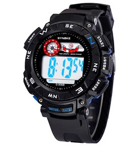 Hot Sale Fashion Casual Sports LED Digital Watches For Men Students Kids Gift 5 Color Wholesale on Sale