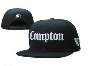 Wholesale 2015 SSUR Snapback Cap Compton Black White Hats hip pop mens women classic Cheap fashion adjustable snapbacks caps High quality street hat