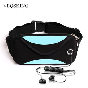 Wholesale-Unisex Running Waist Bag, Sport Waist Pack, Waterproof Mobile Phone Holder, Gym Fitness Bag Runnning Belt Bag Sport Accessories