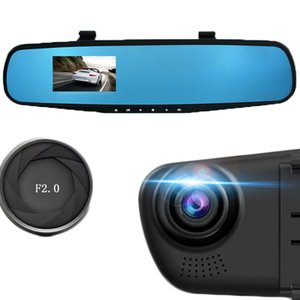 Car-styling Car DVR 2.8'' 1080P HD Dash Cam Video Recorder Rearview Mirror Vehicle DVR Dashcam Tachograph Camera Video Recorder on Sale