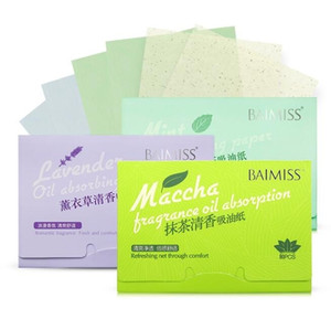 BAIMISS Matcha Facial Absorbent Paper Oil Absorbing Sheets Deep Cleanser Black Head Remover Acne Treatment Beauty Products on Sale