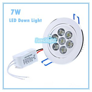 Wholesale Cree LED Downlight Ceiling7WRecessed LED light Downlights Dimmable LED down Lights Lamps Warm White 110-240V