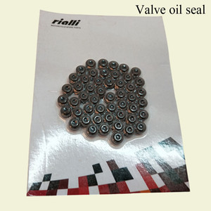 Wholesale RIALLI Motorcycle Engine Parts Valve oil seal Special Parts Applicable Vehicle Type ARGENTA 110 Suction Card Packing Motorcycle Accessories