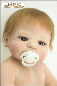 Wholesale New Hotsale Reborn Baby Doll Full Vinyl Body Doll Drawing Victoria By SHEILA MICHAEL So Truly Real Collection Boy Or Girl cm Kg