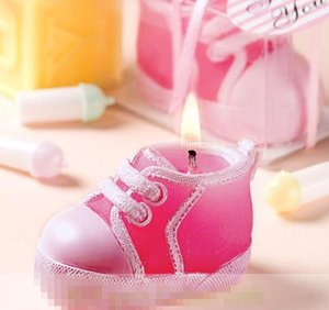 20%off!Details about Cute Baby Shoes Candle Favor for Baby Shower Favors Gifts Supplies Wholesale Retail Free Shipping Hot Sale HIGH Qualiy