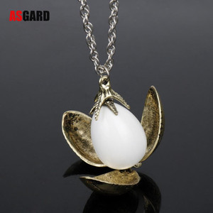 Wholesale Harry Fire Dragon Egg Potter Pendant Goblet Of Fire Rotation Activity Unisex Magic Open Style Gift Vintage Necklace