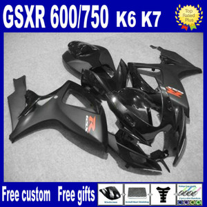 100% fit Injection molding fairing kit FOR SUZUKI GSXR 600 750 K6 2006 2007 GSXR600 GSXR750 06 07 R600 R750 aftermarket fairings kit