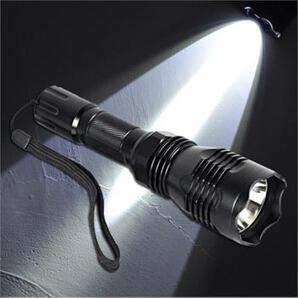Wholesale NEW ARRIVAL Stainless Steel Head UniqueFire HS CREE XM L2 Q5 Meters Long Range LED Flashlight Torch