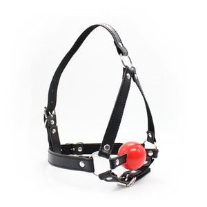 Wholesale Open Mouth Gag Head Harness Mask Fetish Restraint Bondage Adult Game for Couples Flirting Sex Products Toy for Couples Women