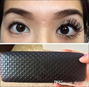2pcs=1set Hot sale 3D FIBER LASHES MASCARA Set Makeup lash eyelash waterproof double mascara with gift box