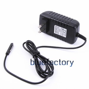 Wholesale For Microsoft Surface RT Wall Charger V A US EU AU UK Plug Supply AC DC Charging Travel Power Adapter for Tablet PC RT2 Black