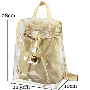 Wholesale kids backpack korean for sale - Group buy Schoolbag Lucency Candy Color Girls Korean Kids Children Bags Lady Backpack Jelly Beach Casual Llsfg
