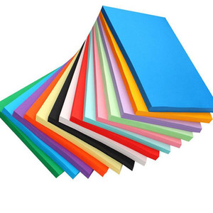 Wholesale 29 cm A3 Colorful Black White Kraft Paper g Blank Paperboard Paper DIY Gift Card ZA5517
