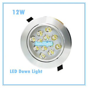 Cree LED Downlight Ceiling 12W Recessed LED light Downlights Dimmable LED down Lights Lamps Warm White 110-240V on Sale