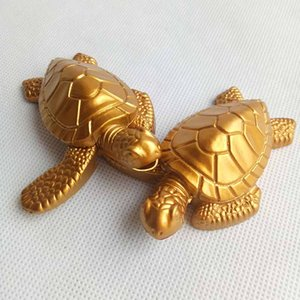 Wholesale Gold Turtles Tortoise Butane Metal Cigarette Smoking lighter Without Gas For Tobacco Hand Pipes Accessories Tools Kitchen Use