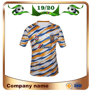 Wholesale New Mexico Club Tigers UANL Third Soccer Jersey Tigers UANL rd Soccer Shirt Stars Vargas H Ayala SOSA Football Uniform Sales