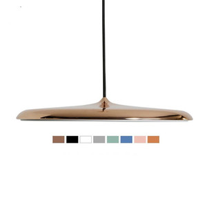 Wholesale Modern Pendant Lights Flying Scucer Ceiling Hanglamp E27 LED Acrylic Pendant Lamp for Dining Room Living Room Study Parlor