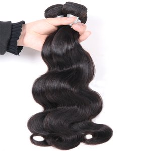 Wholesale Lucky Queen 8A Unprocessed Virgin Human Hair 3 Bundles Double Weft Hair Extensions Body Wave Brazilian Body Wave Straight Hair Bundles