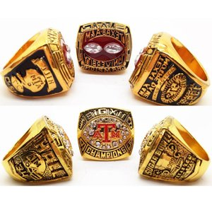 Wholesale New Fashion Men s Ring Texas AM Championship ring Manufacturer fast shipping