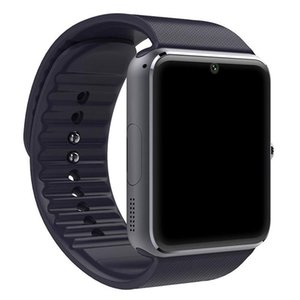 Wholesale Bluetooth Smart Watch Men GT08 With Touch Screen Big Battery Sim Card Camera iPhone Android Phone