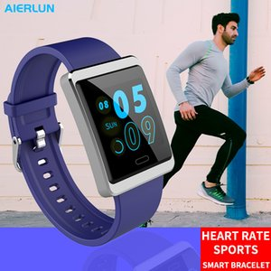 Wholesale Aierlun Smart Bracelet Waterproof Smartwatch Heart Rate Sport Model Fitness Tracker Wearable Devices For Men Women Gift