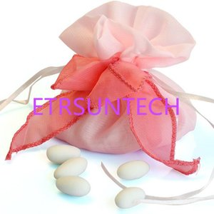 hot sale 300pcs Wedding Candy Souvenir Gift Bags Pouch With Ribbon Birthday Chocolate Bag Wedding Decoration