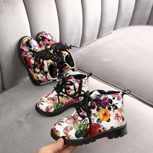 new girls dr snow floral princess boots kids Girls Boys Sport Shoes Children Running Shoes Kids Plush Warm Snow