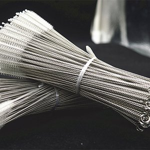 Wholesale Stainless Steel Straw Cleaning Brush Nylon Straw Cleaners Cleaning Brush For Drinking Pipe Stainless Steel Glass mm
