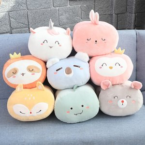 Wholesale New Products Cute Cartoon Down Cotton Animals Warm Hands In Winter Pillow Office Nap Pillow Send Girls