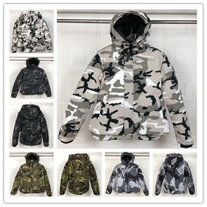 mens designer jackets hooded down parkas luxury canadian winter coats white black camouflage waterproof windbreaker jacket male down clothes