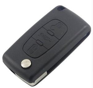 Wholesale auto remote covers for sale - Group buy auto key For peugeot remote Remote Case Shell Key Cover Buttons Key Case CE0523