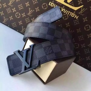 Wholesale V0LOUIS VUITTON Fashion Leather Belts Men and Women Luxury Belt Designer Black Belt Top Quality Brand MICHAEL 0 KOR Belts LOUIS