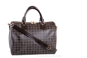 2020 factory price high quality Genuine oxidize leather fashion brand women handbag totes Speedy with strap Bandouliere shoulder bag 40391