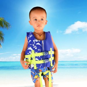 Wholesale drifting baby life vest life jacket boy girl child children vests boating survive kids water swimwear Bubble swimsuit