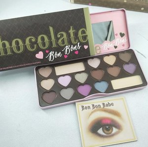 High Quality! Sweet Peach Makeup Eye Shadow Semi-sweet Bon bons 18 Colors Professional Eyeshadow Palette DHL free shipping