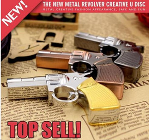 Wholesale New Real Capacity Pendrive Gun Shaped GB GB USB Flash Drive GB Stick Flash Memory Disk Pen Drive U78